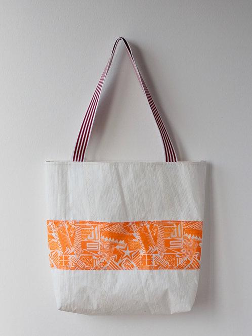 Keith Haring in Orange