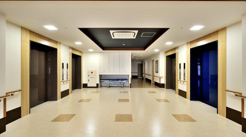 和光の園 3F 介護老人保健施設 ホール