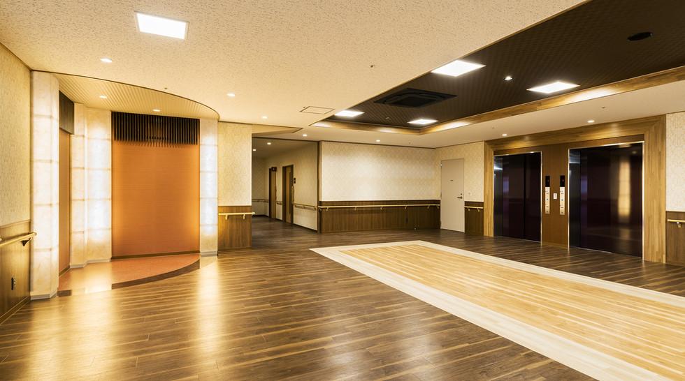はつかり ホール・エレベーターホール