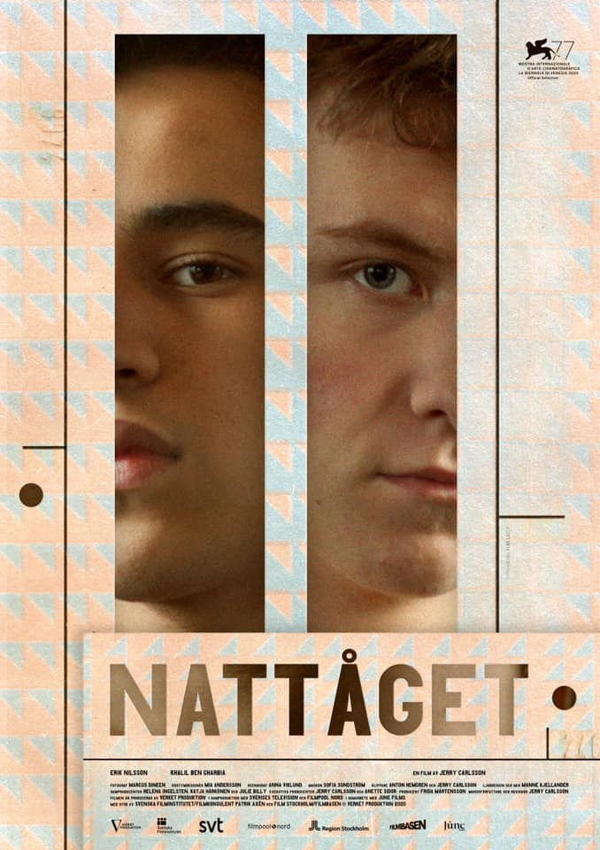 Film poster, Nattåget (by Jerry Carlsson)