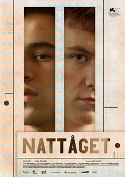 Film poster, Nattåget (by Jerry Carlsson)