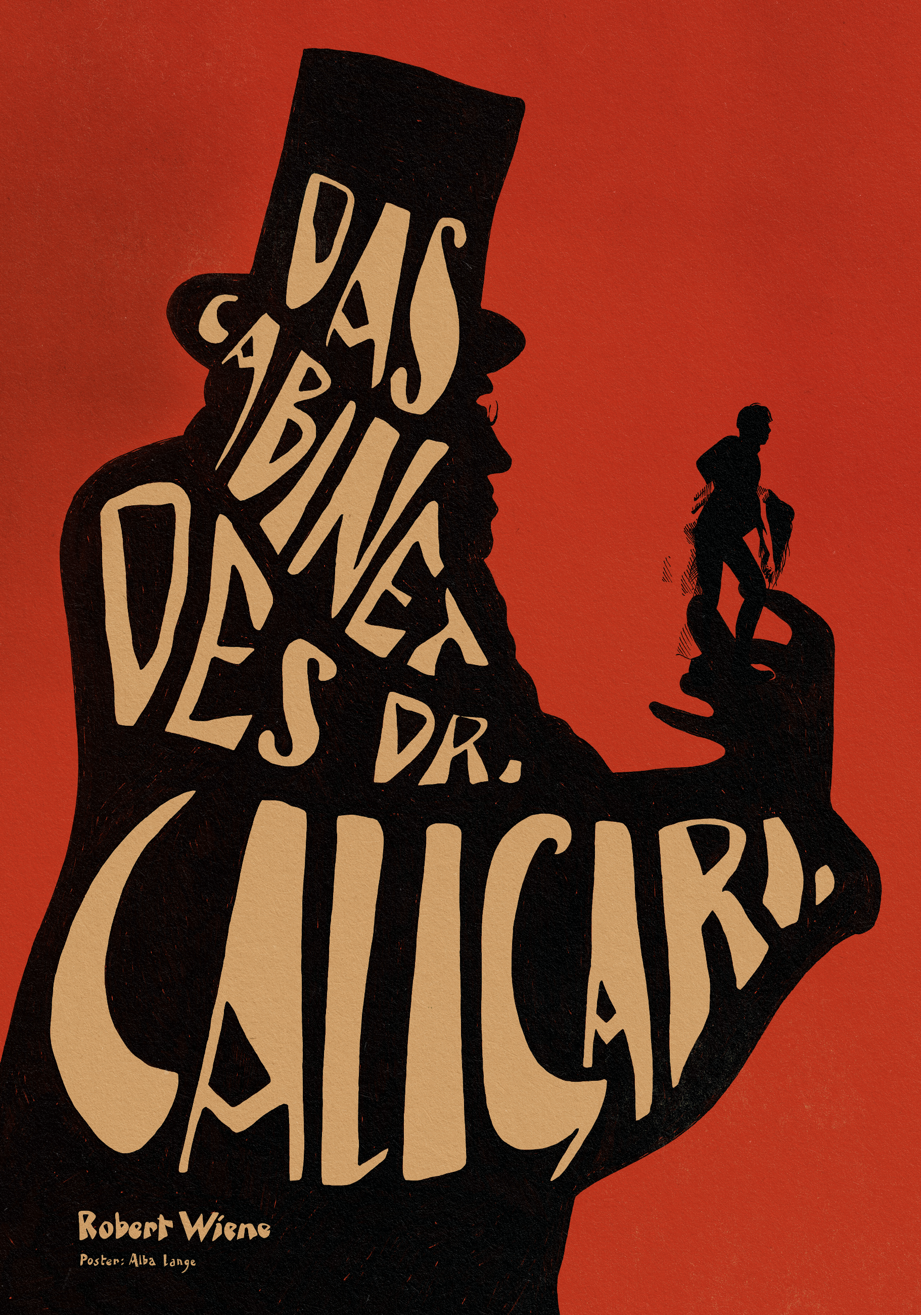 Film poster, The Cabinet of Dr. Caligari (for Non-Stop Entertainment)