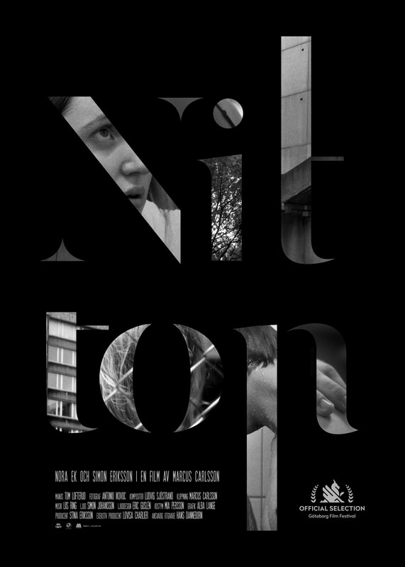 Film poster for Nitton (by Marcus Carlsson)