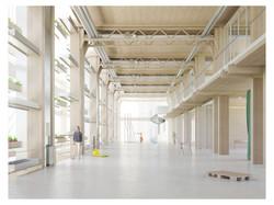 Interior Semi-open Workplace