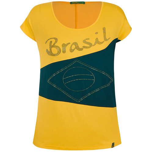 Blusa Brasil Blocos