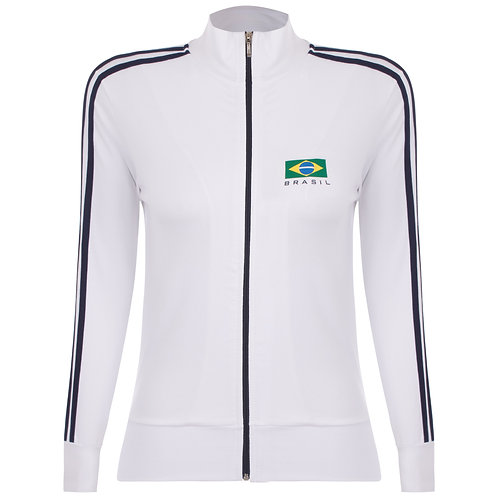 Casaco Brasil Silk