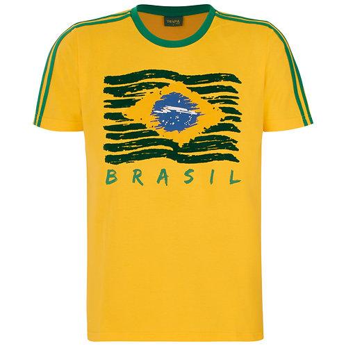T-shirt Bra Dif - Brasil Flag