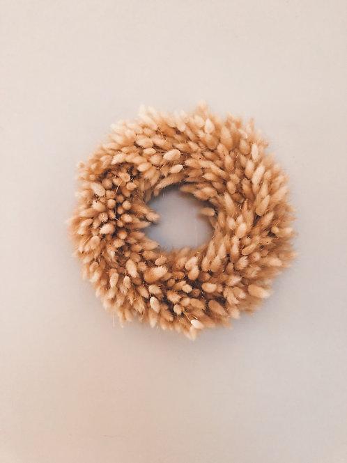 Bunnytail wreath