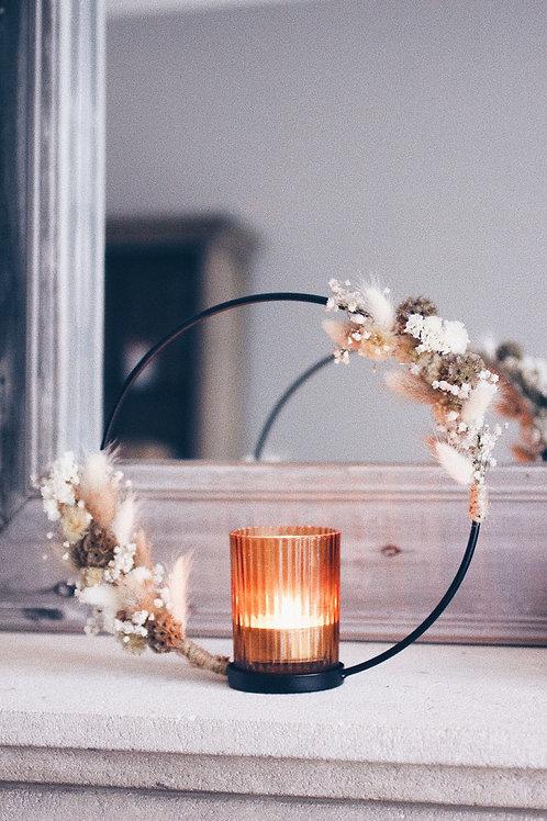 Candle flowerhoop