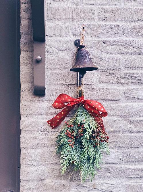 Christmas door ornament
