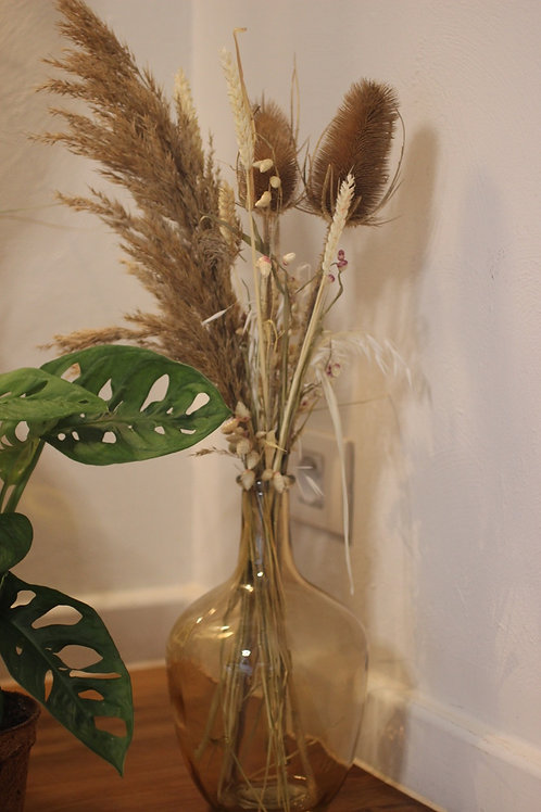 Natural dried bouquet