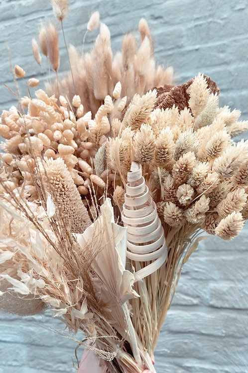 Natural dried flowers mix