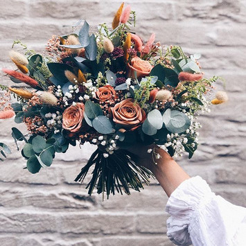 Bohemian field bouquet 🌸✨💐 #bohemianst