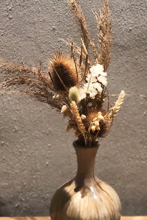 Natural mini dried bouquet