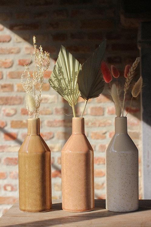 Brown pastel vase