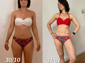 Client of the month: Sandrine