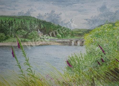 Elan Valley - Original Watercolour by William Mans