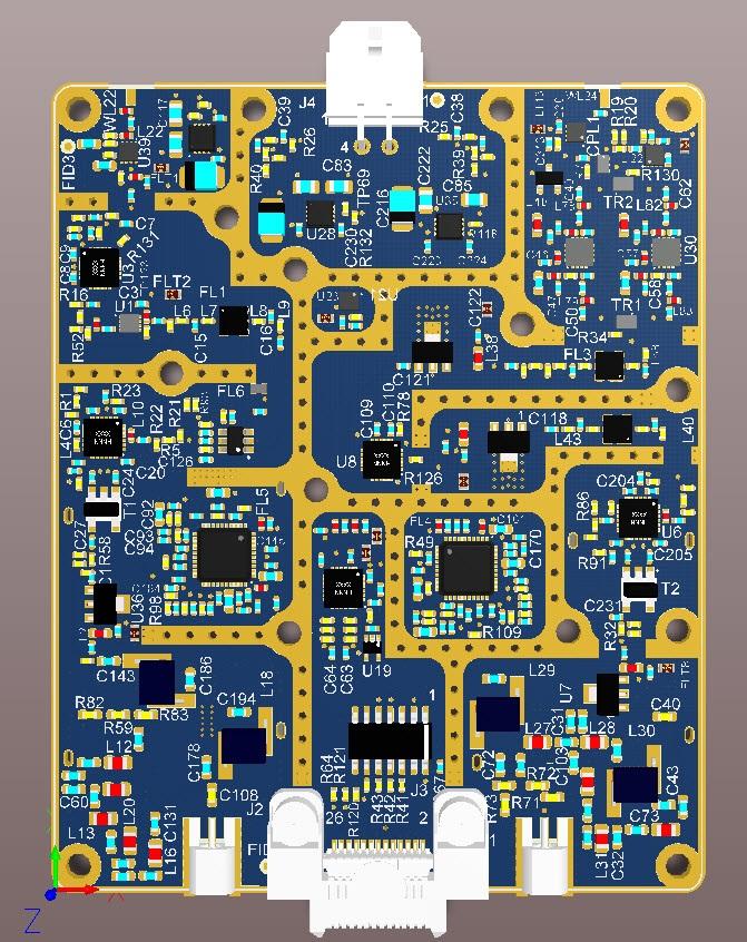 High Frequency RF Board