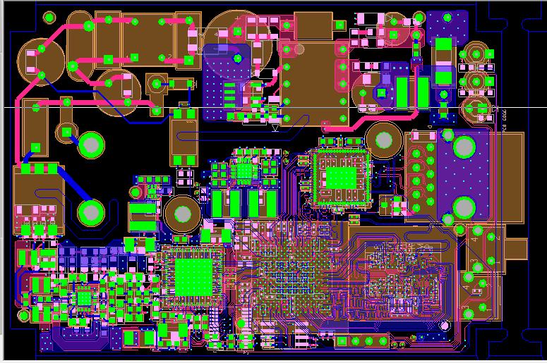 Integrated High Speed RF Board