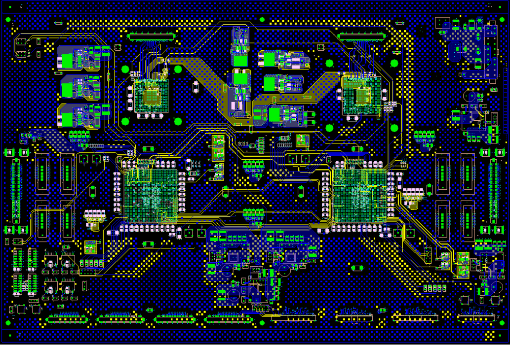 High Speed Integrated RF Board