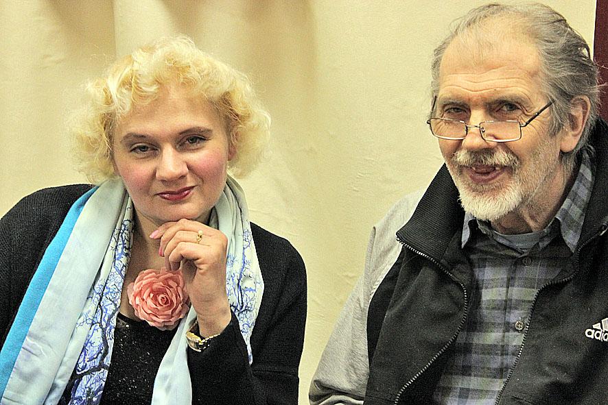 Наталья Рожкова и Александр Петрович-Сыр