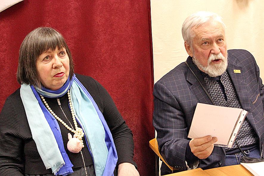 Нина Давыдова и Дмитрий Цесельчук