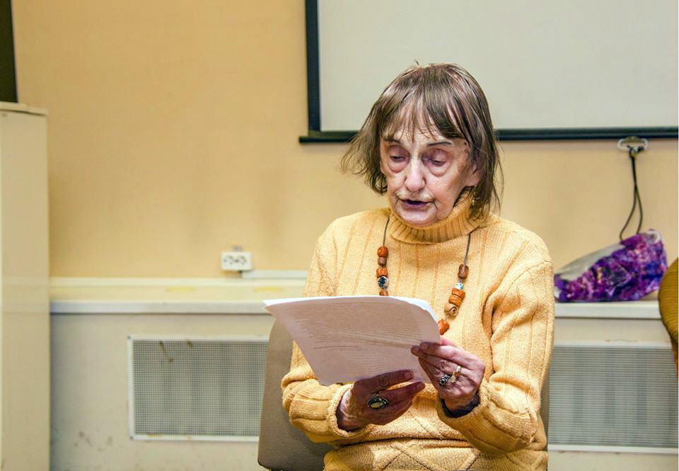 Лилия Волохонская читает свой рассказ