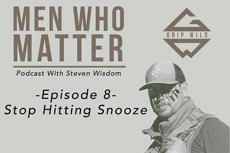 Stop Hitting Snooze Web Promo Podcast.pn