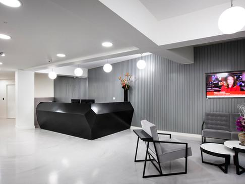 INVITE  N2-LS Standard Reception Desk