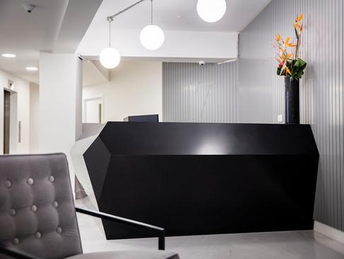 INVITE Reception Desk