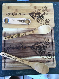 Mother's Day Cutting Boards
