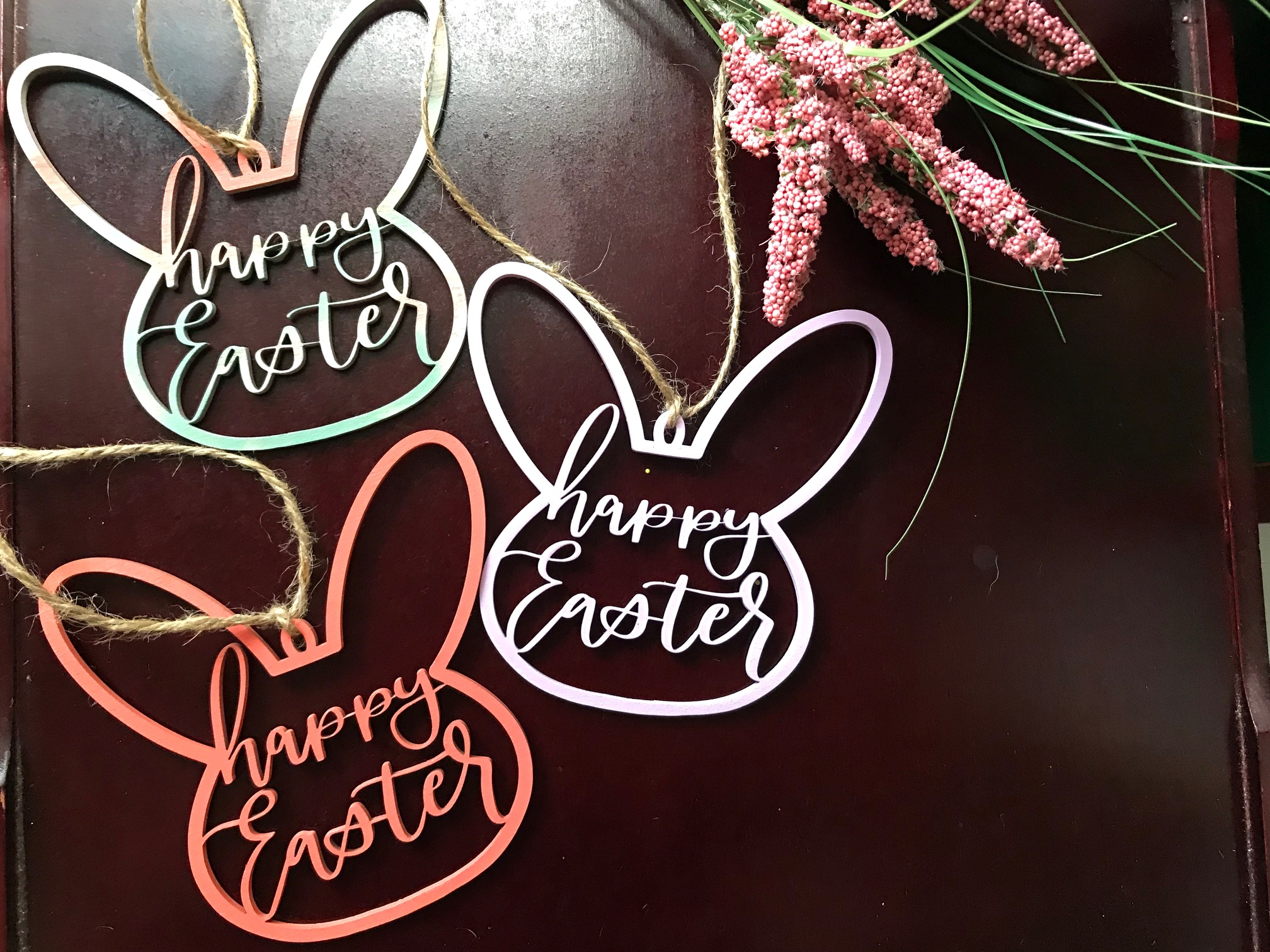 Happy Easter Basket Tags