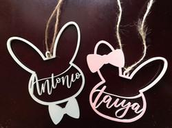 Custom Easter Basket Name Tags