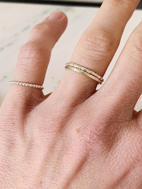 Speckle minimum ring