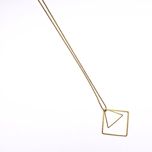 triangle-square-duo - ketting - L