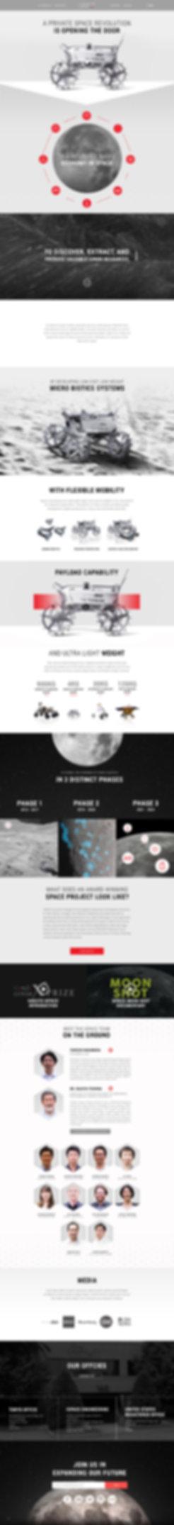 portfolio version Latest Ispace Website