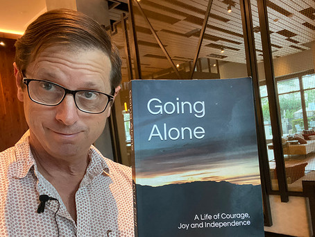 BOOK READING - Going Alone - The Anxiety Hike