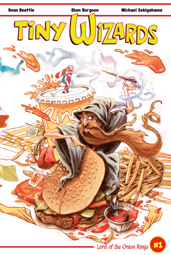 Tiny Wizards, issue #1, Cover