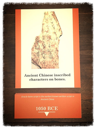 History of Language Card Set