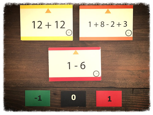 The Integer Card Set