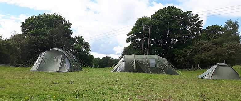 All set up - Camps at Courses or Horses