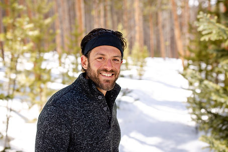 Mike Messeroff in the woods March 2020.j