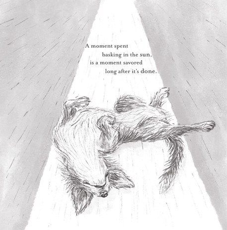 Dogs Get It 8.5 illustrations with poems