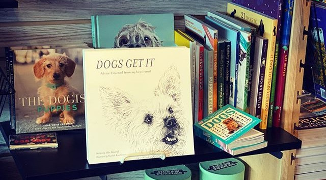Dogs Get It at Next Page Books Frisco Co