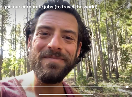How we quit our corporate jobs (to travel the world)