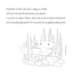 Axolotl Page - Coloring Book Edition - H