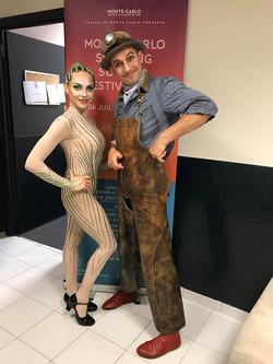 Ирина Науменко и Роман Мунин