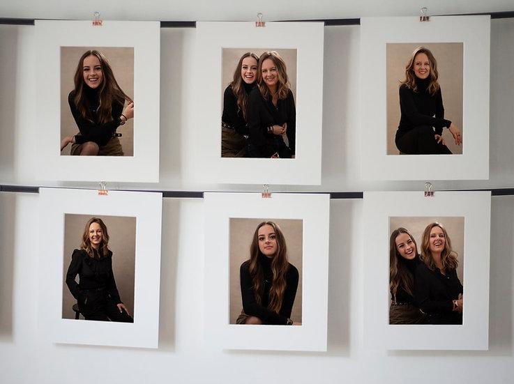 PORTRAIT MADAME CHIC (Tailored Photoshoot + 6 art prints)