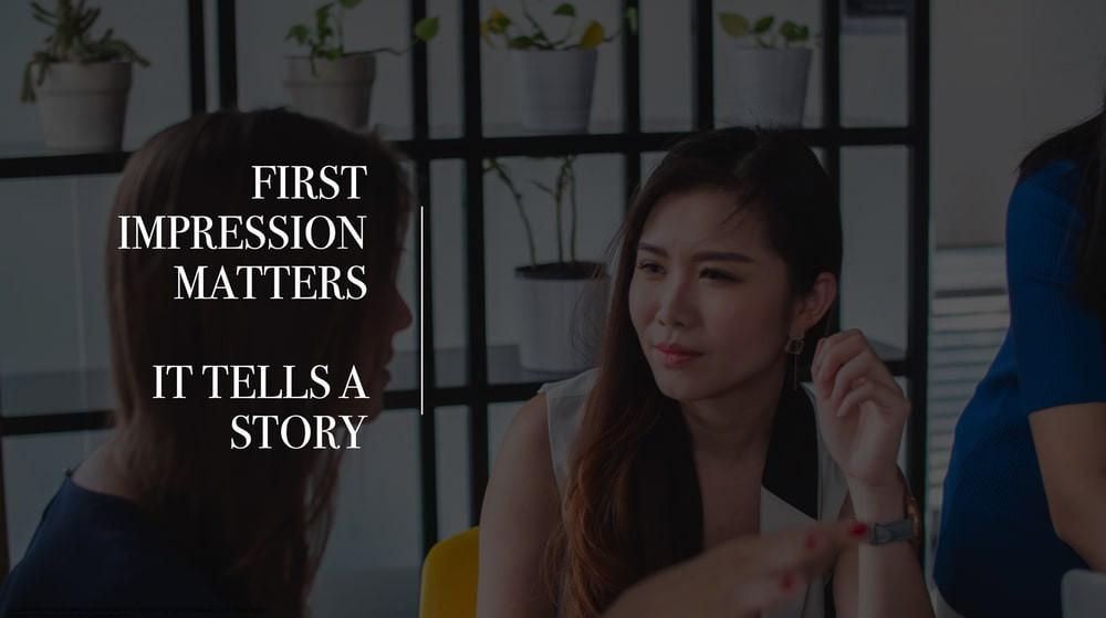 comment faire une premiere bonne impression