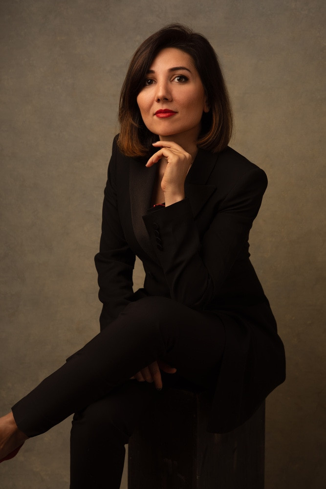female film director portrait NYC KHUSHNUDA SHUKUROVA